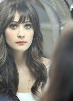 zooey's perfect hair