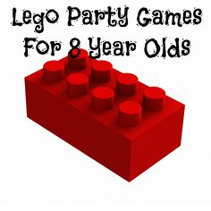 Planning LEGO party games for 8 year olds is easy because this age group is ALL ABOUT LEGOs. Just ask them what their favorite movie was last year!