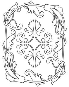 Google Image Result for http://www.printactivities.com/ColoringPages/Medieval-Coloring-Pages/Medieval-Pattern-01.gif