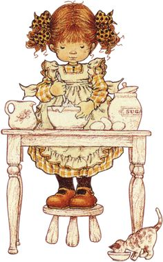 Immagini Sara Kay e Holly Hobbie Sarah Key, Holly Hobbie, Vintage Images, Vintage Art, Papier Kind, Dibujos Cute, Pintura Country, Australian Artists, Illustrations