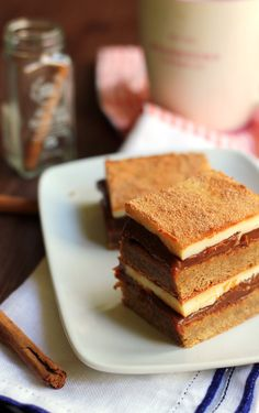 Dulce de Leche Snickerdoodle Bars - Joanne Eats Well With Others