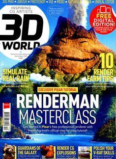 Exclusive Pixar tutorial - Renderman Masterclass. Get started in Pixar's free professional renderer with Harsh Agrawal's official siep-by-step tutorial! Gefunden in: 3 D WORLD, Nr. 12/2014