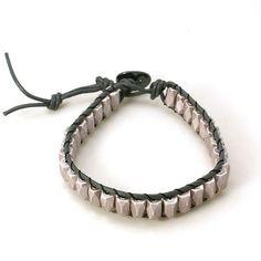 PandaHall Jewelry--Fashion Hematite Leather Wrap Bracelets | PandaHall Beads Jewelry Blog