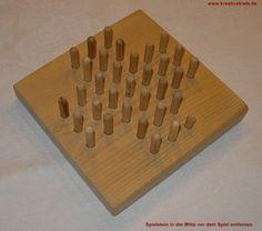 Holz Solitär Spiel
