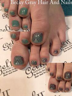 #gelii #manicure mostly mauve #geliireaction #colourchanging #moyoulondon #nailart #tcbg #showscratch #pedicure