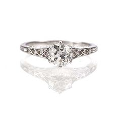 Leigh Jay Nacht Inc. - Replica Edwardian Engagement Ring - 1901-15