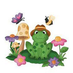 Leap Cute Frog E