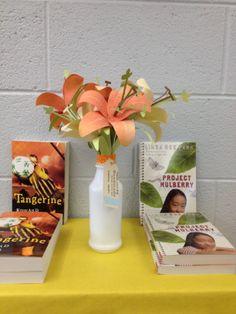Flower lillies at the 2014 Book Fair