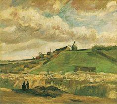 Vincent van Gogh: The Hill of Montmartre with Quarry, Paris: Autumn, 1886. Van Gogh Museum, Amsterdam