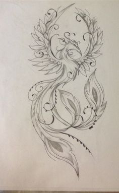 Result for images for Feminine Phoenix Tattoo Designs diy tattoo images - tattoo images drawings - t Phoenix Tattoo Feminine, Phoenix Tattoo Design, Design Tattoo, Mandala Tattoo Design, Tattoo Design Drawings, Tattoo Phoenix, Feminine Back Tattoos, Phoenix Design, Neue Tattoos