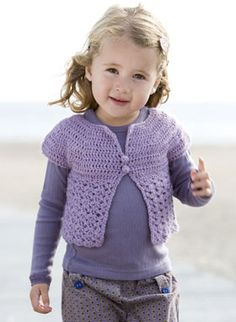 Vest for girls - easy to make; for all outfits!