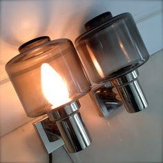 Retro wandlampen Retro wall lamps