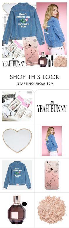 """YEAH BUNNY"" by gaby-mil ❤ liked on Polyvore featuring Gucci, Viktor & Rolf, La Mer, Bobbi Brown Cosmetics, iphone and case"