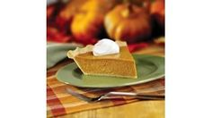 EAGLE BRAND(R) condensed milk makes this perfect pumpkin pie a delicious ending to a Thanksgiving feast.