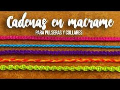 Make a knotted macrame friendship bracelet - jewelry making tutorial Macrame Knots, Micro Macrame, Macrame Jewelry, Macrame Bracelets, Collar Macrame, Bracelet Fil, Macrame Bracelet Tutorial, Macrame Patterns, Diy Schmuck
