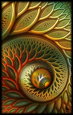 """Fractal art amazes us with its geometric shapes and rich colors and makes us want to gaze at it for hours just to understand its beautiful complexity and how to make it."""
