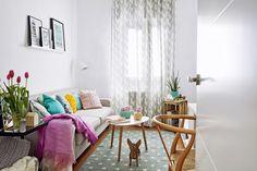 Cómo decorar un piso de alquiler: sesión de fotos de la casa de Margot publicadas en la revista MICASA :)