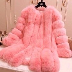 Pink & poofy!