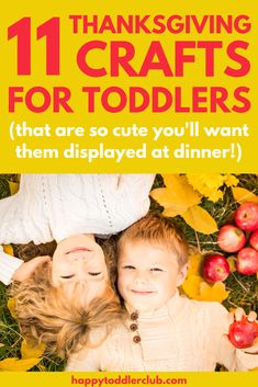 These easy Thanksgiving crafts for toddlers are so cute, you'll want to use them to decorate for Thanksgiving dinner! Have fun with these simple Thanksgiving crafts for kids, perfect for toddlers and preschoolers! Thanksgiving Crafts For Toddlers, Thanksgiving Activities, Thanksgiving Decorations, Thanksgiving Art, Fall Pumpkin Crafts, Easy Fall Crafts, Holiday Crafts, Holiday Ideas, Fun Fall Activities