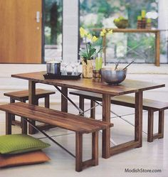 Roost Thorson Dining Table and/or Benches.