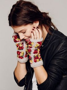 Awesome ✿ how to look fabulous with crochet fingerless gloves in 2014 - Fashion Blog