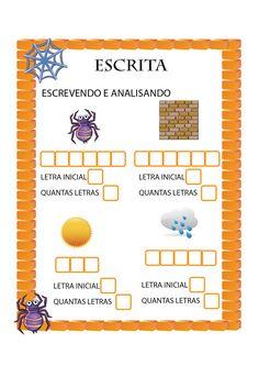 """Kit de atividades para trabalhar com a musiquinha """"A dona Aranha"""". As atividades vem seguindo o mesmo padrão, com a intenção que a criança c..."""