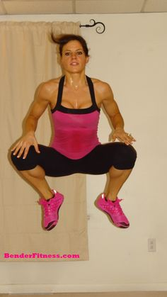 Jump Away Your Jiggle and 800 Meter Running Interval Workout. Major calorie and fat burning home workout, plus a treadmill or track interval workout breakdown. Over 300 other home workouts, recipes and tips for healthy living on this site.