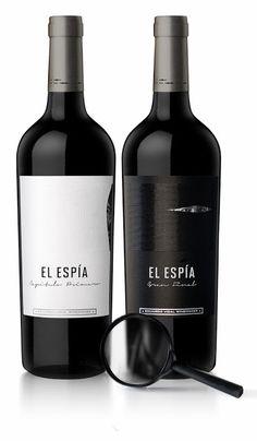 El Espía by Natalia Arena (Estudio Arena Bahamonde), Argentina #wine #vino #packaging