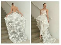 Breathtaking Florals: 14 Spring 2019 Wedding ceremony Clothes You& Need To Get Marr.Breathtaking Florals: 14 Spring 2019 Wedding ceremony Clothes You& Need To Get Marr. Wedding Pantsuit, Wedding Suits, Wedding Gowns, Chic Wedding, Wedding Ceremony, Wedding Mandap, Wedding Receptions, Bridal Outfits, Bridal Dresses