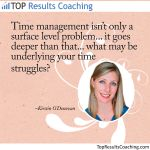 Time management goes much deeper than the surface