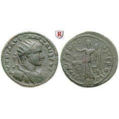 Römische Provinzialprägungen, Kilikien, Anazarbos, Severus Alexander, Tetrassarion 229/230 (Jahr 248), ss+: Kilikien, Anazarbos.… #coins