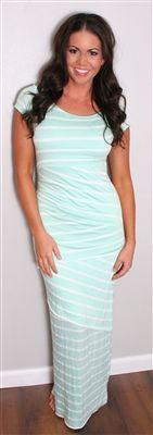 Mint Maxi Dress | Modest Dresses | Maxi Dress