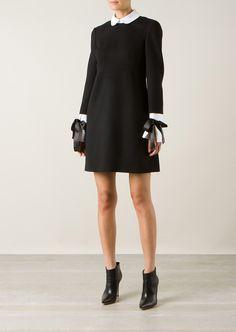Alexander McQueen Robes :: Robe en laine vierge noire Alexander McQueen | Montaigne Market