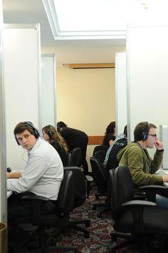 Los editores en el trabajo