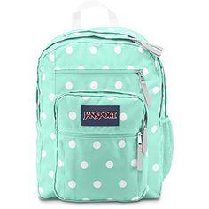 """Jansport Big Student Backpack - Aqua Dash Pots / 17.5""""h X 13""""w X 10""""d, http://www.amazon.com/dp/B00S9OS628/ref=cm_sw_r_pi_awdm_PZDOvb0CH4KN2"""