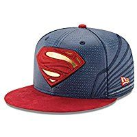 Superman Justice League Armor 59Fifty Fitted Hat 9e910caf1e71