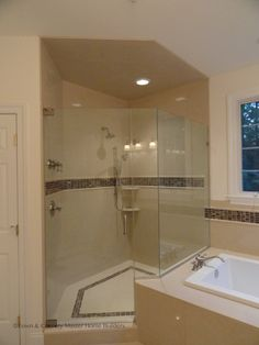 Our customers love oversized standing showers. Gets yours with Town & Country Master Home Builders. www.tchomebuilders.com