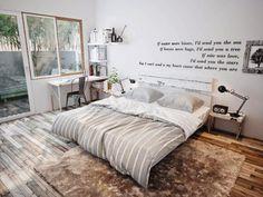 5 modernos dormitorios que proporcionan una zona tranquila y encantadora en el hogar | Decoración