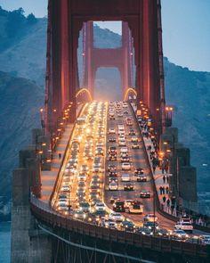 Golden Gate Bridge (San Francisco, California) by Simon Timbers (@uwo) on Instagram