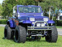 Jeep Wrangler YJ - 1989 Used Jeep Wrangler Full Custom YJ