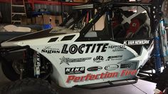 Partial vehicle wrap for team Perfection Fire Protection baja buggy. To see more of this buggy please click here http://bit.ly/1qEB8YO