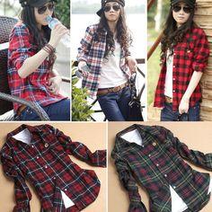 I like this. Do you think I should buy it? http://www.dresslink.com/women-button-cotton-casual-lapel-shirt-plaids-checks-flannel-shirt-top-blouse-p-10962.html?utm_source=pin&utm_medium=cpc&utm_campaign=Sabrina-Jun
