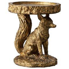 Patch Fox Candleholder - Gold