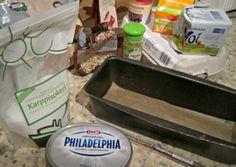 Making of carrot cake