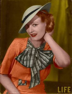 Hair & makeup - 1930's Fashion Colorized by ~ajax1946 on deviantART