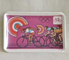 1968 Summer Olympics Pin Dish   Summer Olympics by ModernMexican, $85.00