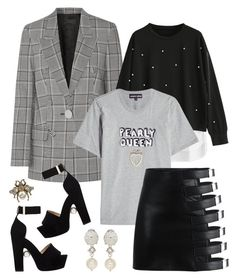 """""""Pearly Queen"""" by cherieaustin ❤ liked on Polyvore featuring Alexander Wang, Markus Lupfer, Nicholas Kirkwood, Miu Miu and Gucci"""