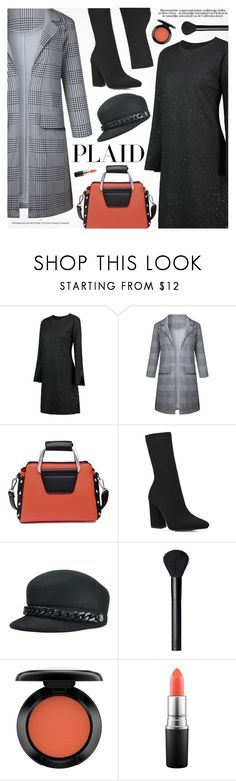 """Check It: Plaid"" by pokadoll ❤ liked on Polyvore featuring NARS Cosmetics, John Lewis and MAC Cosmetics"