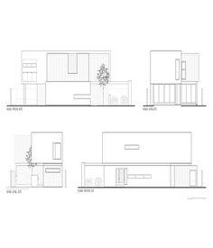 Imagen 22 de 22 de la galería de Casa Paracaima / TAFF Arquitectos. Elevación