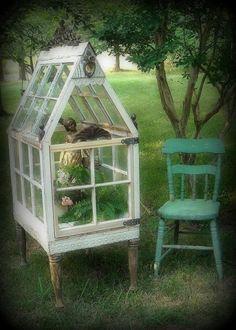 *The Brambleberry Cottage*: Time Travel Thursday #6 - A Yard Conservatory